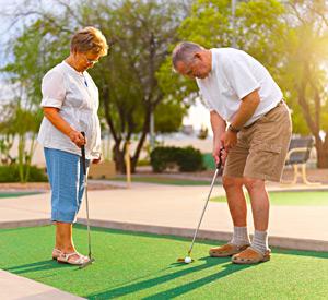 Yuma Lakes Resort - Miniature Golf