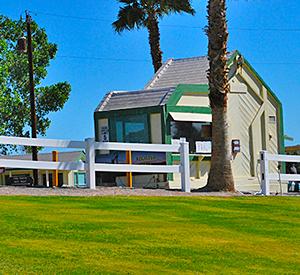 Yuma Lakes Resort - Front Gate